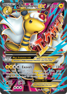 M Ampharos EX Ancient Origins