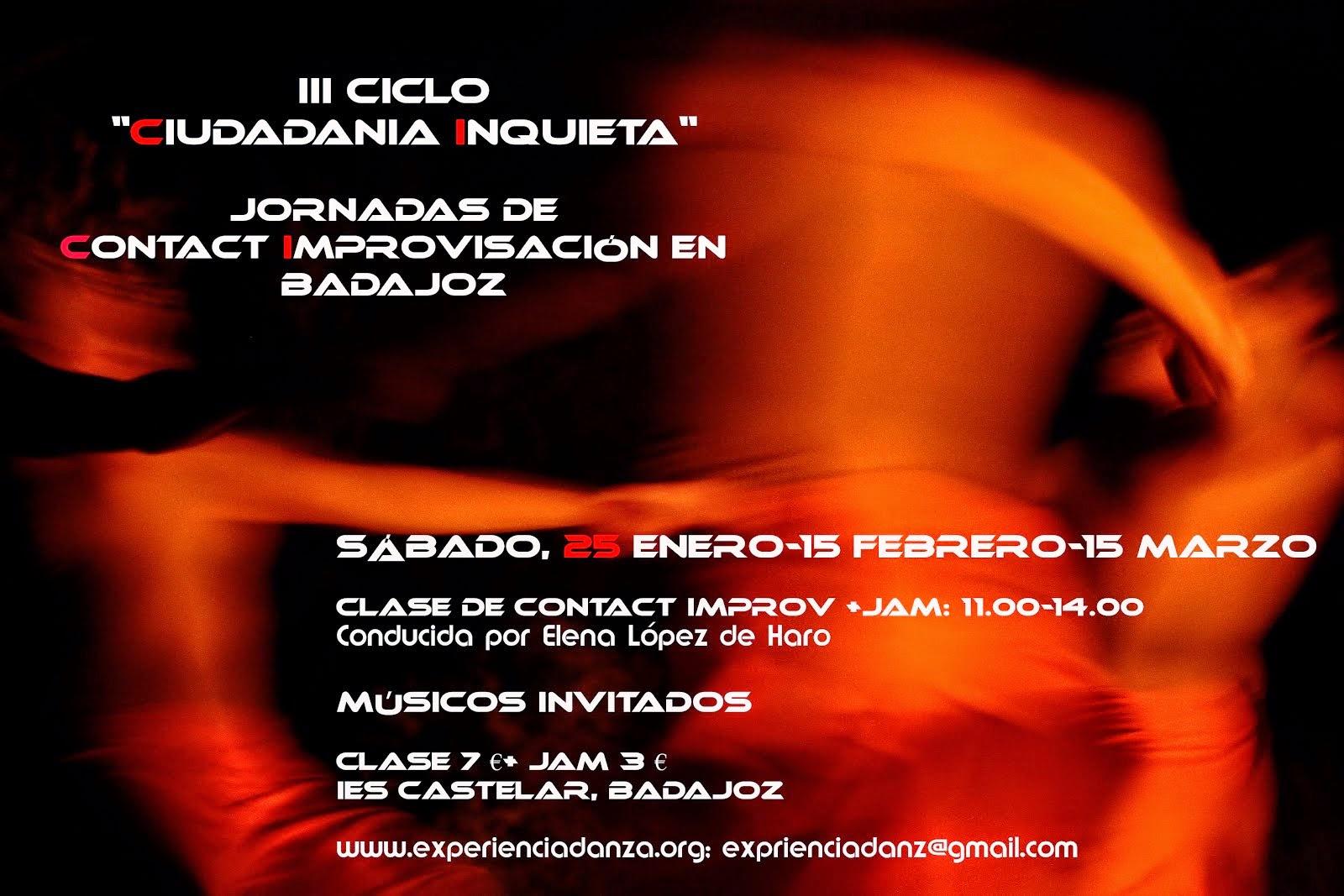 """III CICLO """"CIUDADANÍA INQUIETA"""" 2014"""