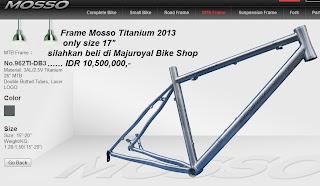 frame mosso titanium 2013