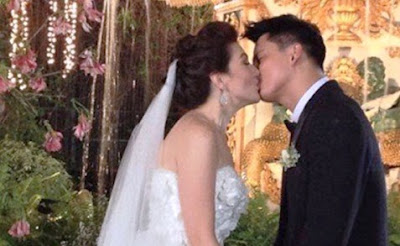 Zoren and Carmina's First Kiss as Husband and Wife