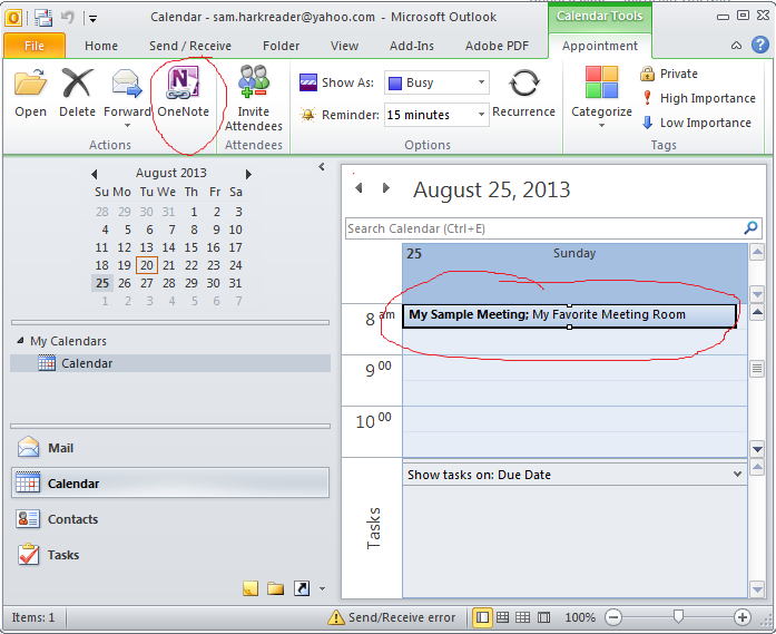 Mastering OneNote How to create an agenda quickly – How to Create a Agenda