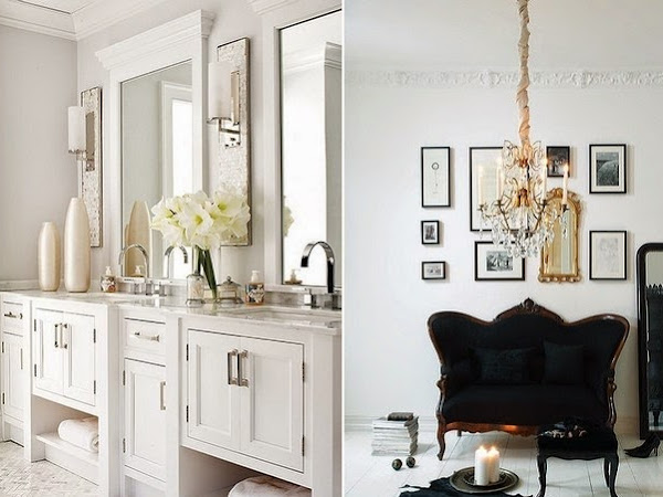 Home inspiration... Black & White.