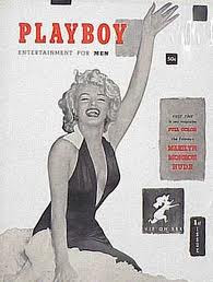 1953 Playboy Magazine Marilyn Monroe cover