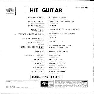 Hit-Guitar - Karl-Heinz Kästel Und Seine Gitarren