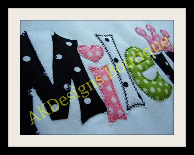 Alphabet Applique Machine Embroidery Designs | Machine Embroidery
