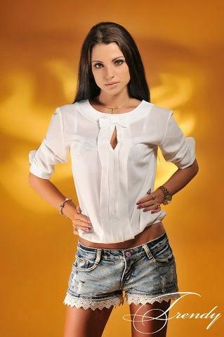 Женская Блузка Из Мужской