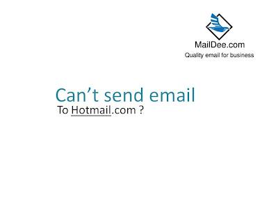 หรือ โดน hotmail block