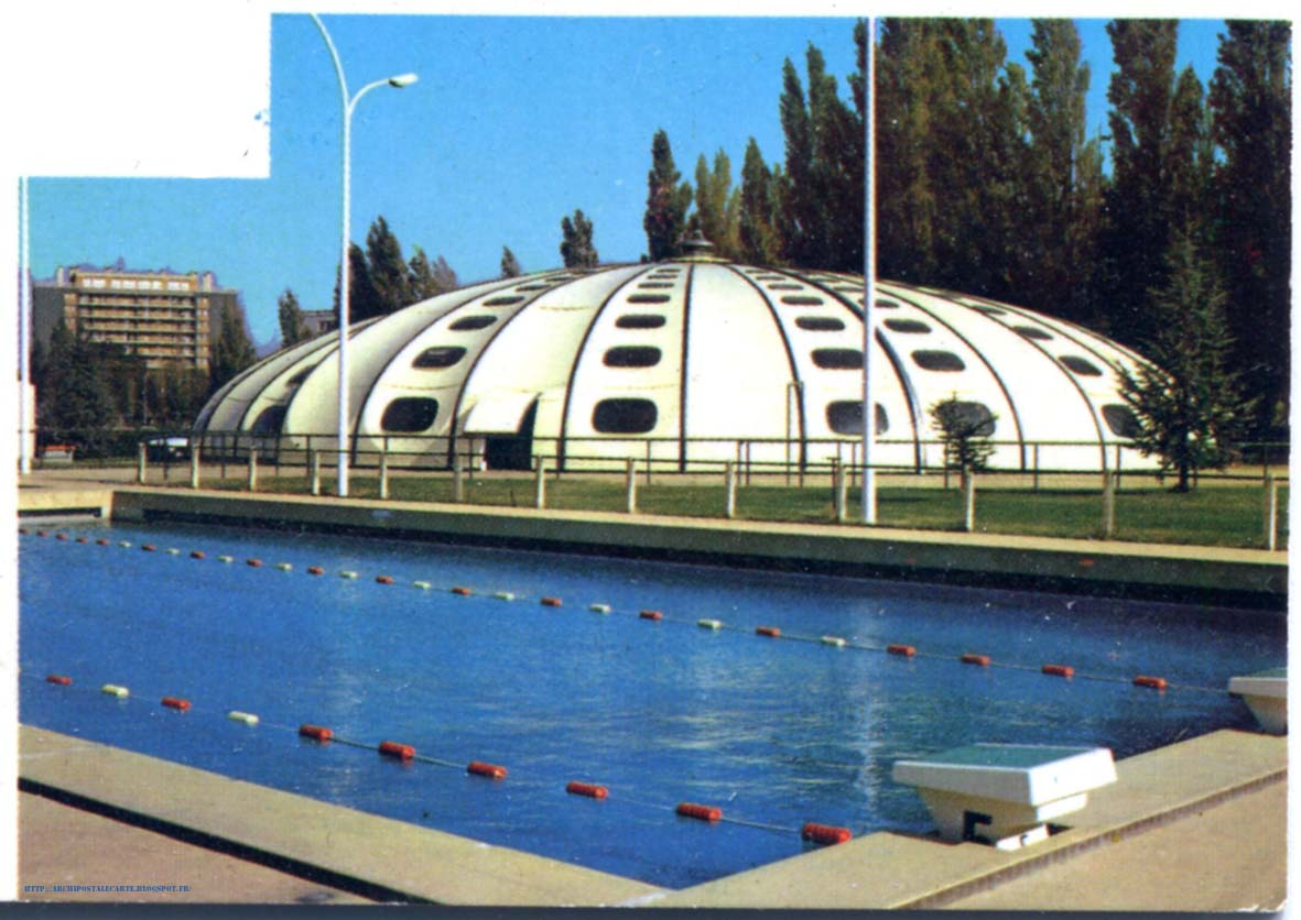 Architectures de cartes postales 1 for Piscine tournesol