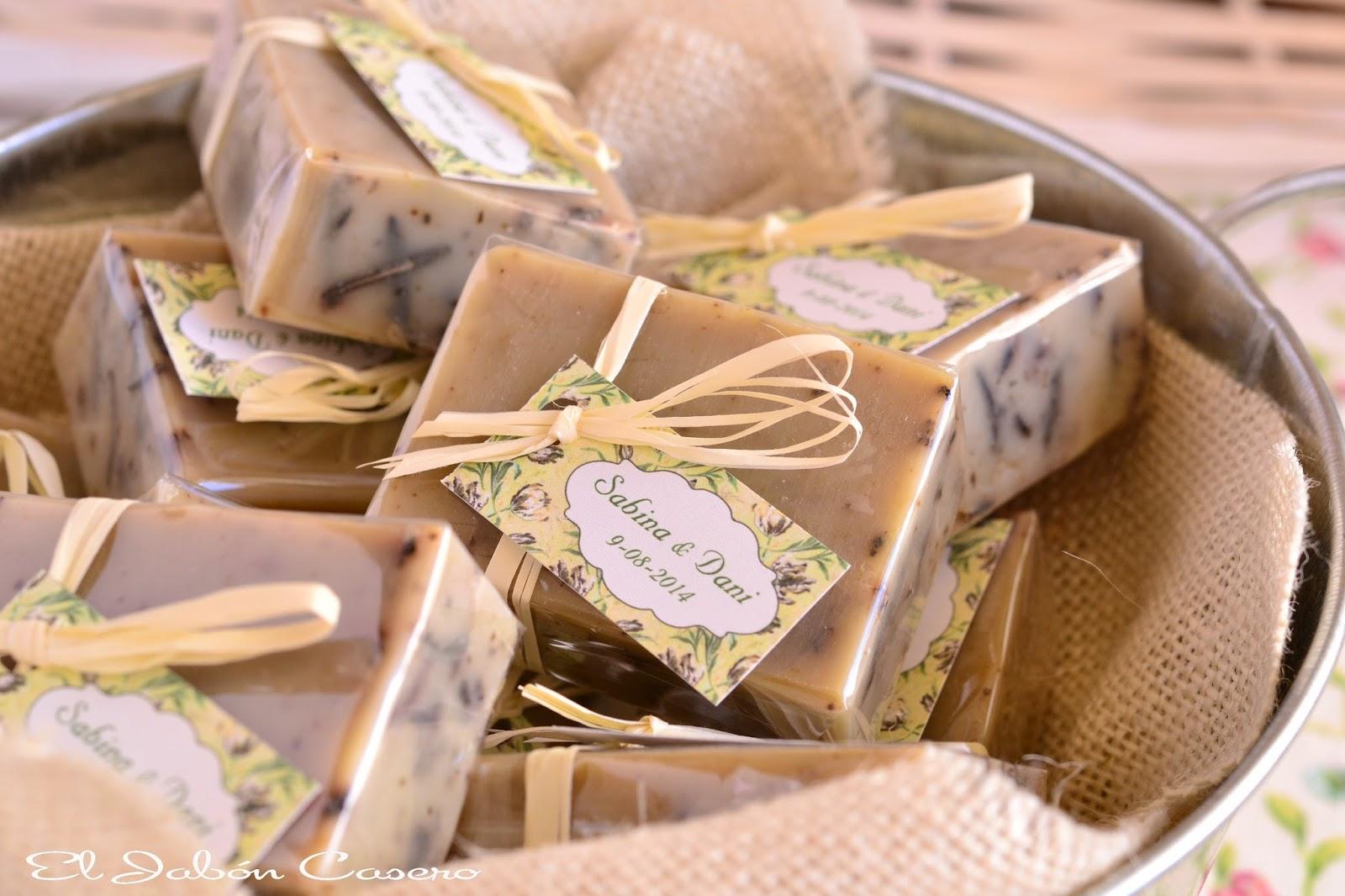 El jab n casero detalles naturales para bodas jabones for Decoracion rustica para bodas