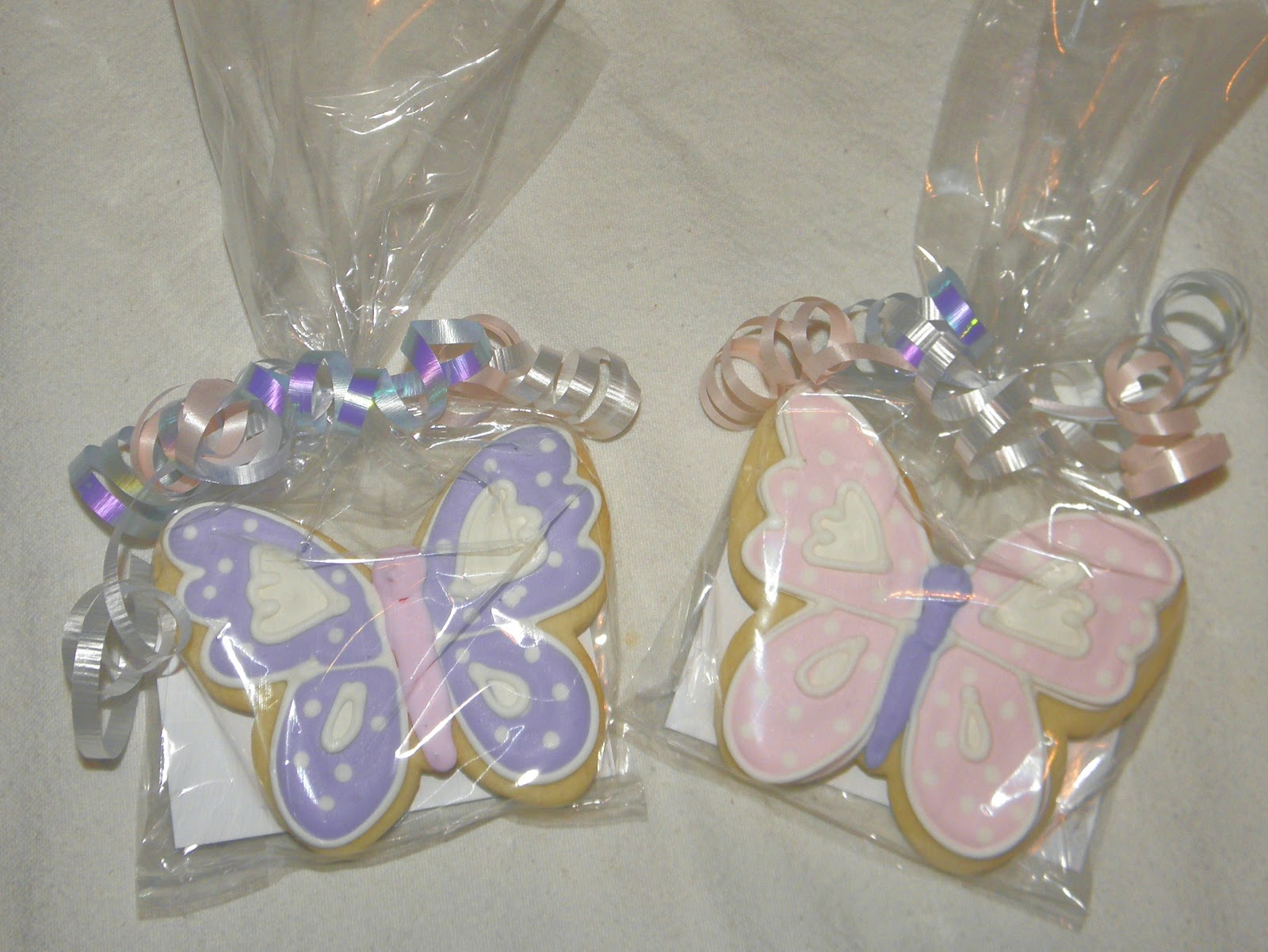 cookie dreams cookie co butterfly cookie favors