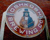 The Oshkosh Brewing Company Emblem at the Oshkosh Public Museum