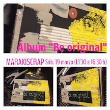 "Feria SCRAP + Sitges                            Álbum ""Be original"""