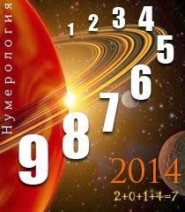 Нумерология 2014 хороскоп по лична година