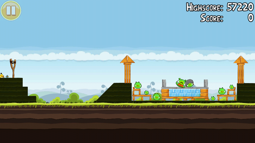 Angry Birds 4-2 Mighty Hoax