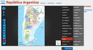 Mapas de la República Argentina