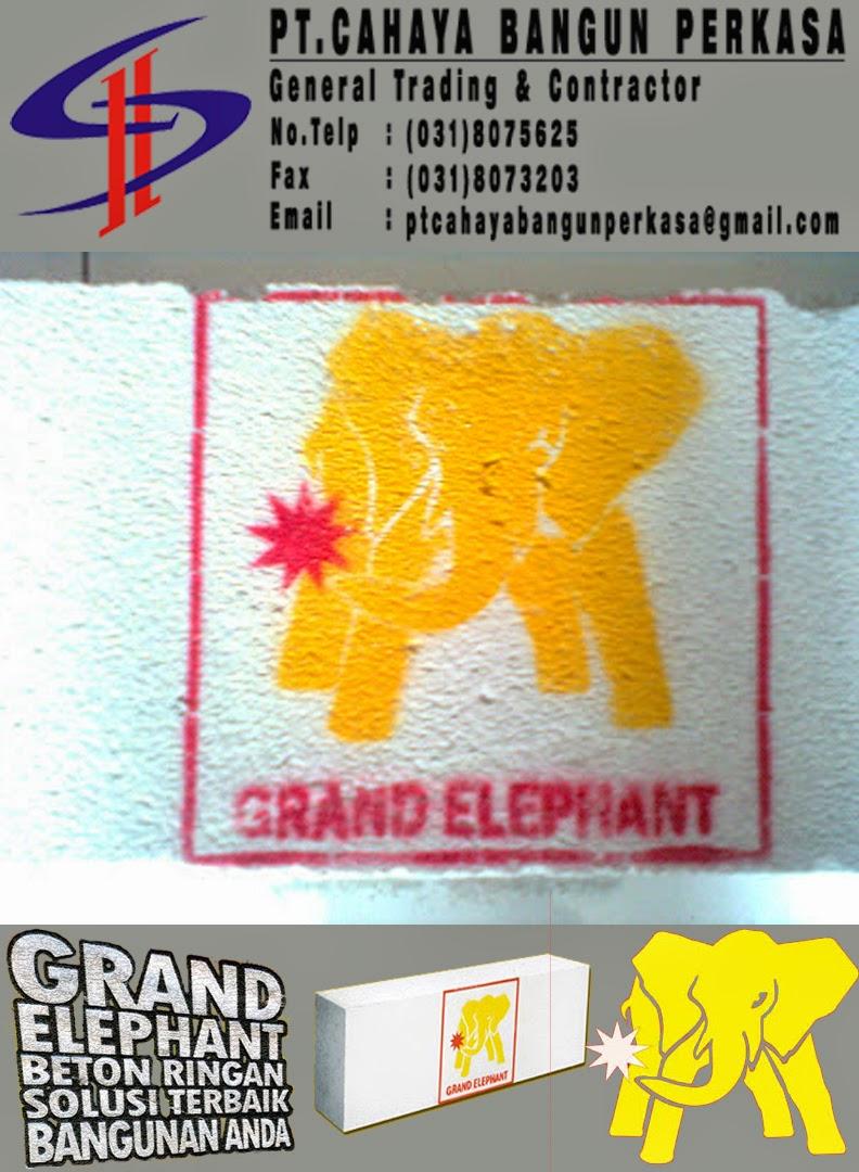 Brosur Bata Ringan Grand Elephant