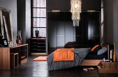 Home decorations masculine bedroom design ideas perfect for Masculine room colors
