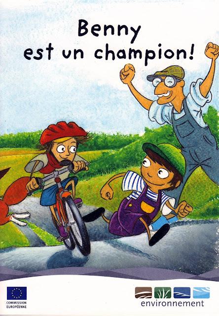 """BD gratuite offerte """"Benny est un champion!"""" 100% gratuit bon plan"""