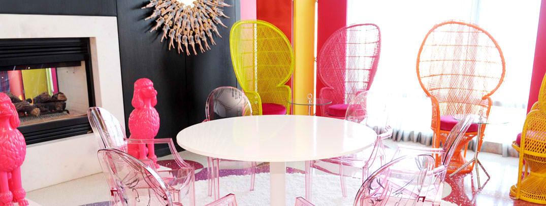 dallas amante  pink inside  barbie suite at the palms