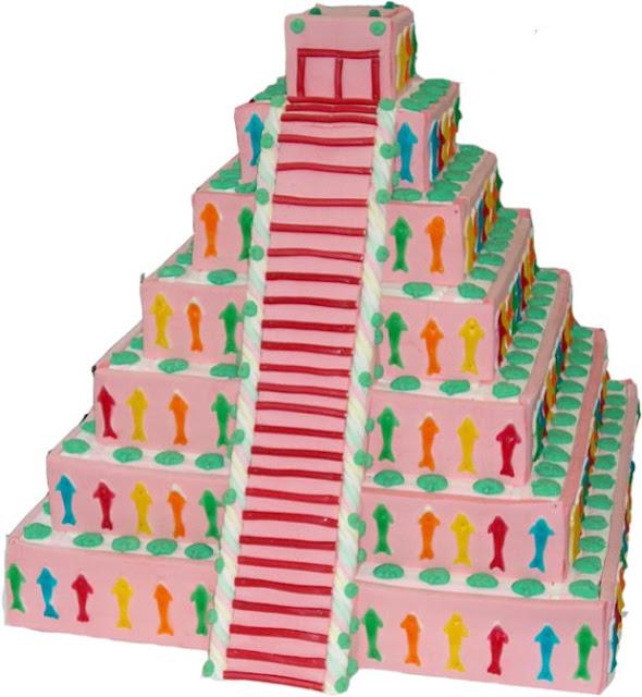Piramide Pastel de chuches