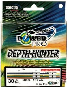 LINE POWER PRO DEPTH HUNTER MANCING TV