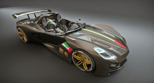 New 2015 Dubai Roadster Supercars