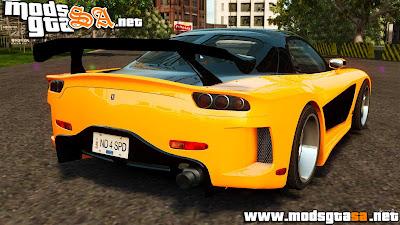 IV - Mazda RX-7 Veilside Tokyo Drift