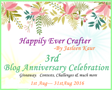 Jasleen's Blog Anniversary Celebration
