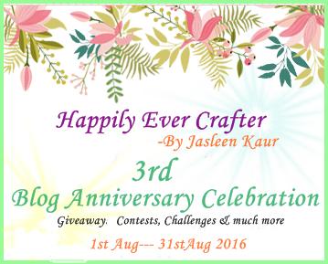 Jasleen's Blog Anniversary Celebration