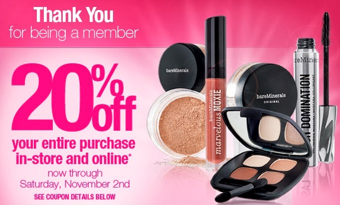 Ulta Beauty Save 20 Off Your Purchase Through November 2