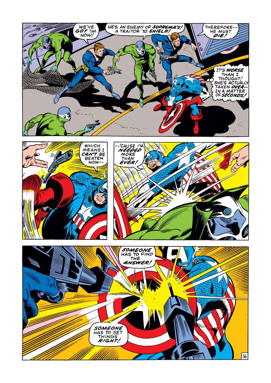 Captain America (1968) Issue #123 #37 - English 17