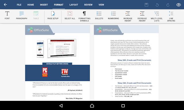 OfficeSuite 8 + PDF Editor Premium 8.5.4647 APK !
