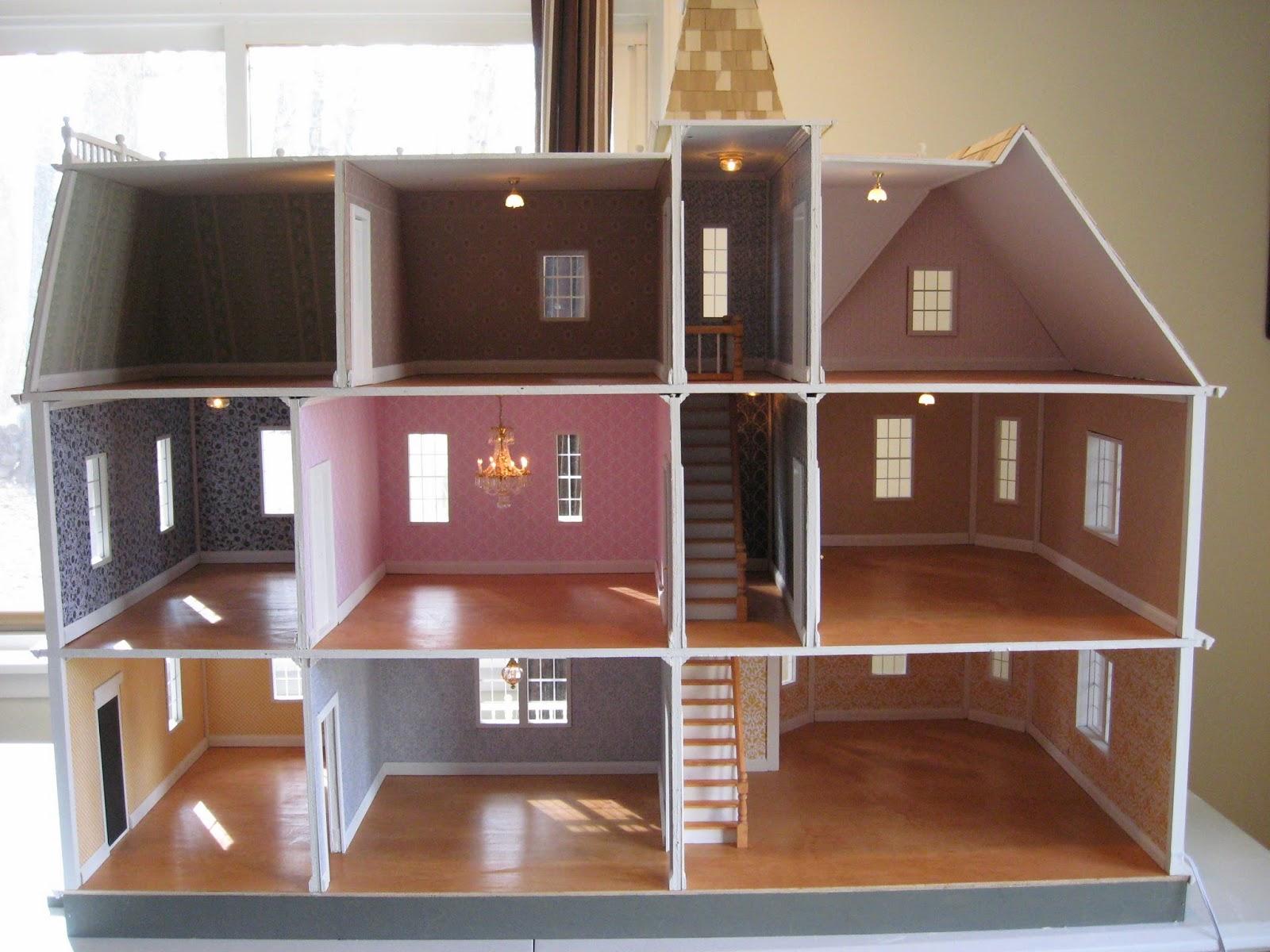 Little Darlings Dollhouses Bostonian Dollhouse II