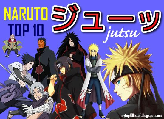 Naruto Top 10 Jutsus