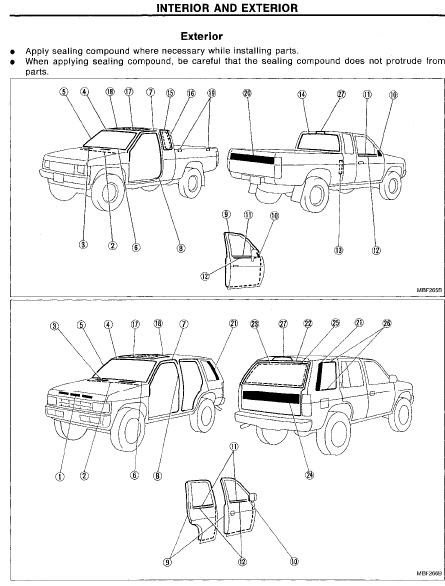 repair manuals nissan pathfinder wd21 1994 repair manual