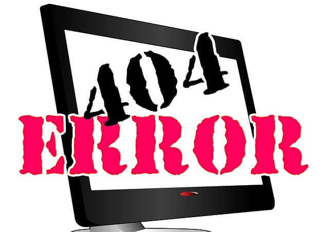 ما هو خطأ404 وما هى اسبابه والهدف منه  (  error 404 not found)