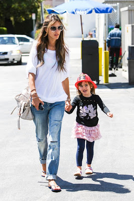 Alessandra Ambrosio daughter Anja