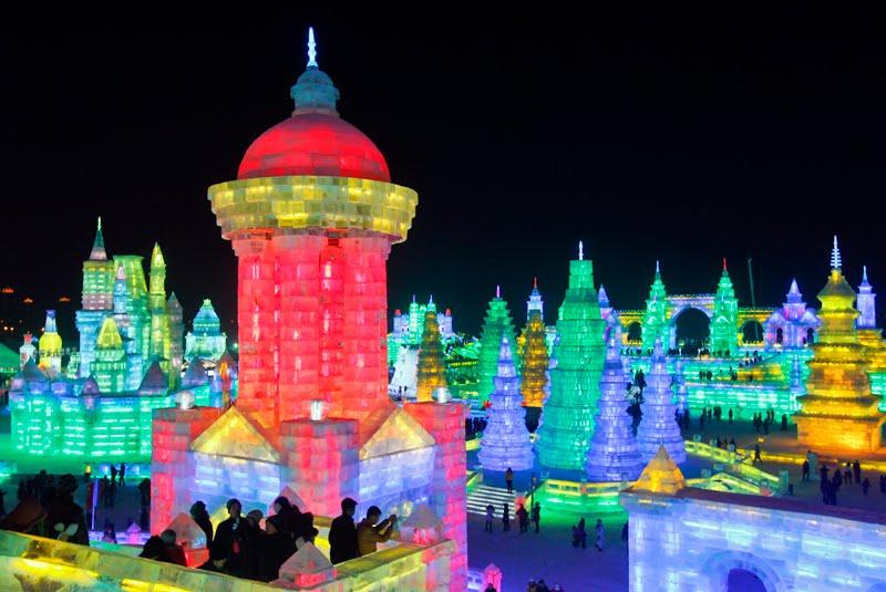 Escultura china hielo