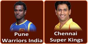 आइपीएल 6 का उन्नीसवां मैच Ma Chidambaram Stadium Chepauk Chennai में होने जा रहा है।