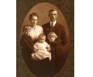 Old time family photo: Like you find in the attic. Stock Photo credit: hortongrou