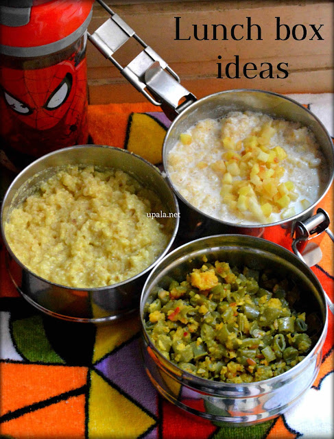 Morkuzhambu Rice Curd And Beans Paruppu Usili Indian Lunch Box Ideas Office College School