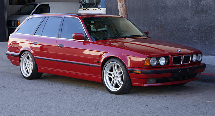 Heres Your Chance To Own A 1995 BMW 540i Touring 6Speed