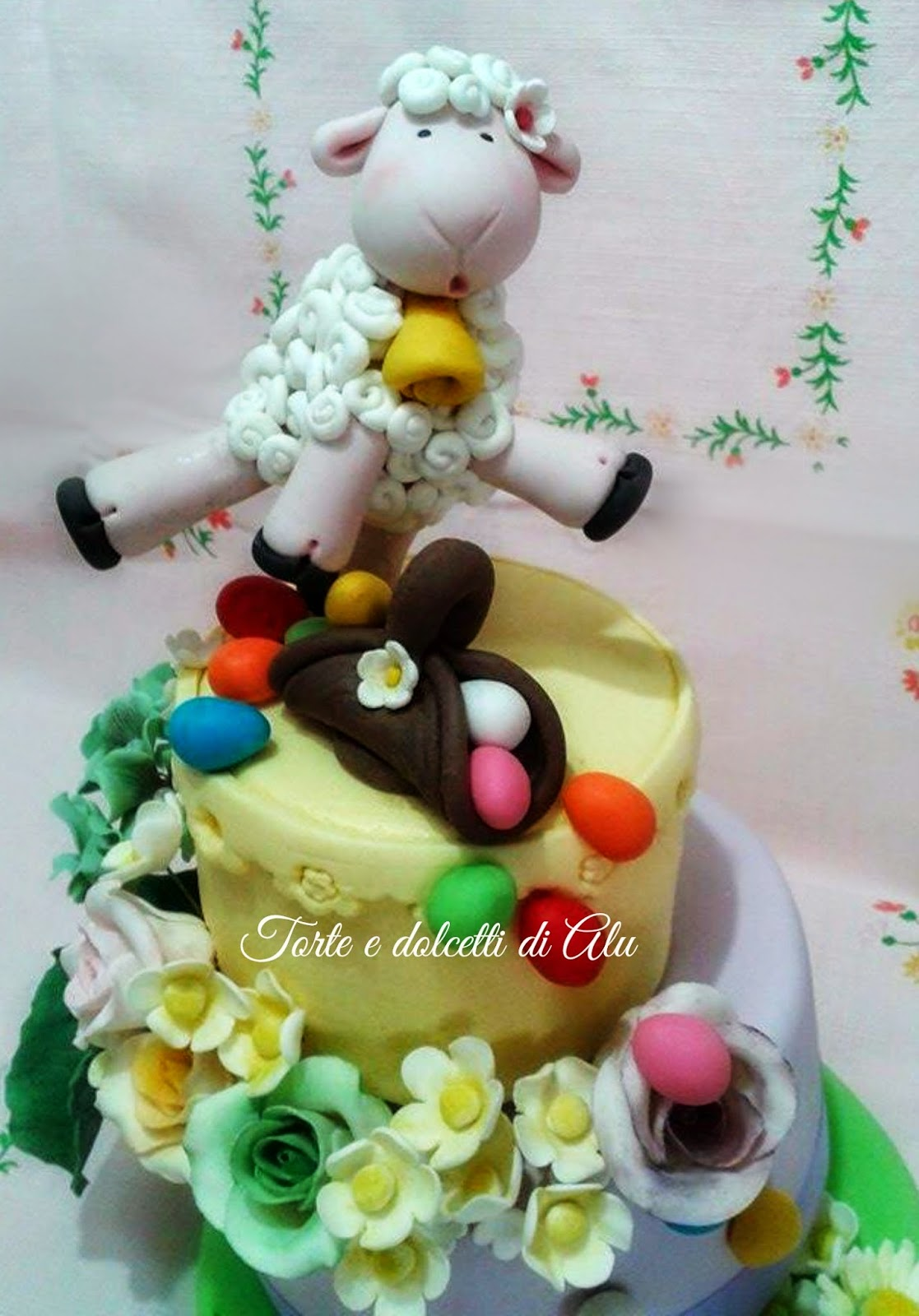 Torte e dolcetti di alu - Uova di pasqua decorati ...