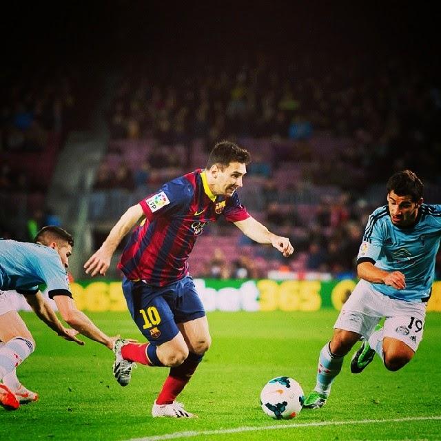 Jelang Celta Vigo Vs Barcelona: FC Barcelona Vs Celta Vigo 2014