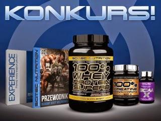 Konkurs Scitec Nutrition Białko Promix Creatine Monohydrate BCAA-X