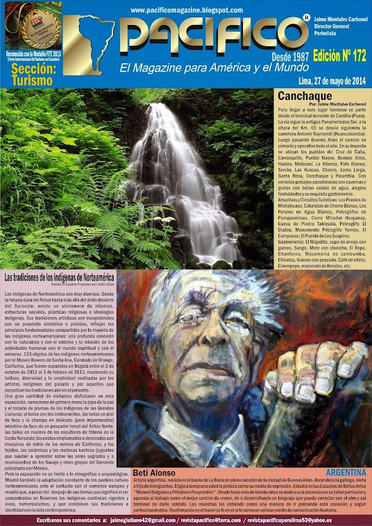 Revista Pacífico Nº 172 Turismo