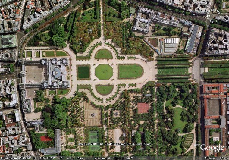 palacio y jardines de luxemburgo paris la foca monje. Black Bedroom Furniture Sets. Home Design Ideas