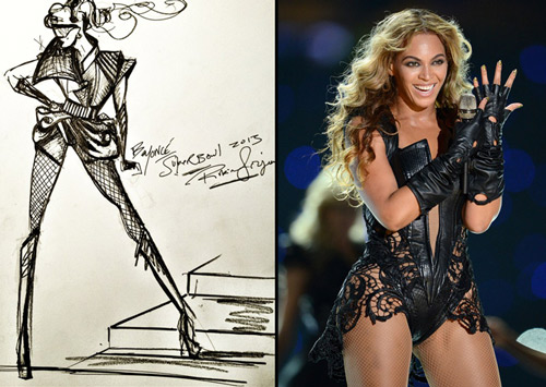 Rubin Singer dress for Beyonce