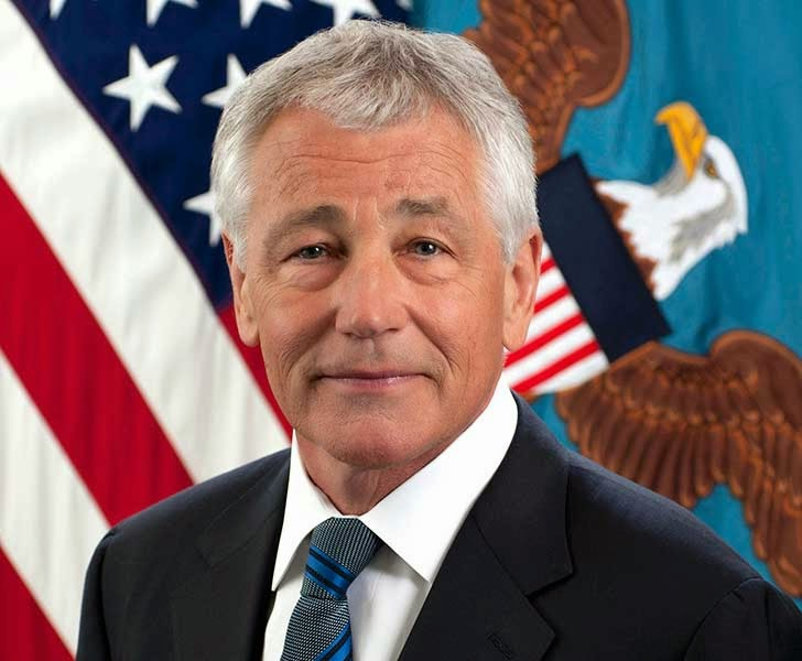 US Defense Secretary Chuck Hagel
