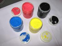 Jenis-jenis Tinta Sablon